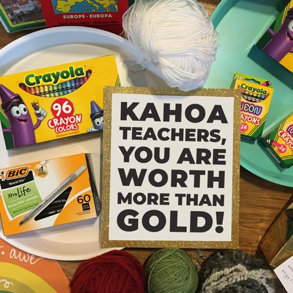 Kahoa art supplies